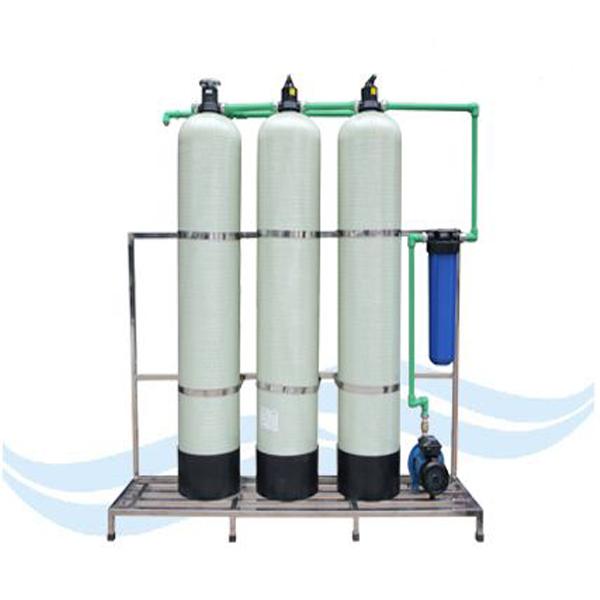 Công nghệ xử lý nước giếng khoan bằng thiết bị lọc áp lực